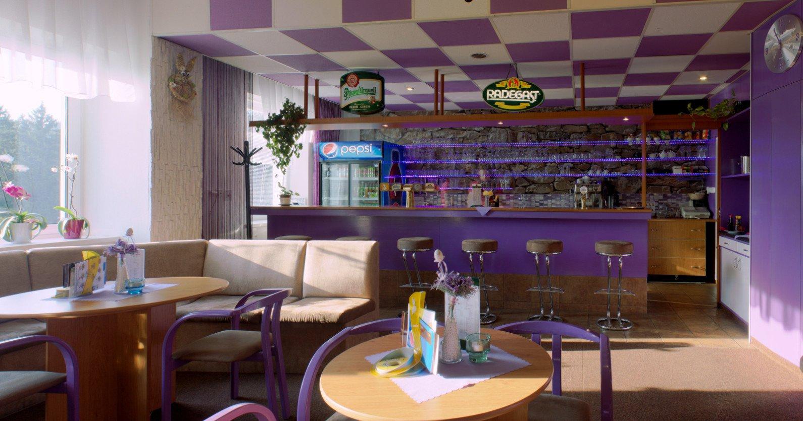 Denní bar hotelu Mesit