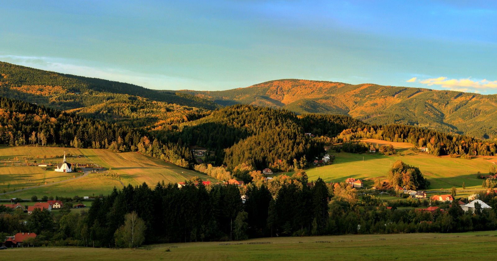 Údolí Prostřední Bečvy