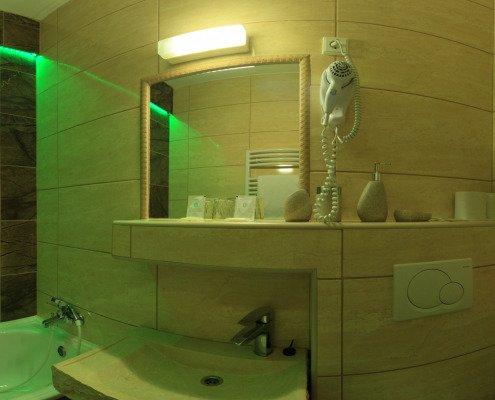 Kameninový pokoj koupelna