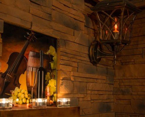 Vinný wellness svíčky