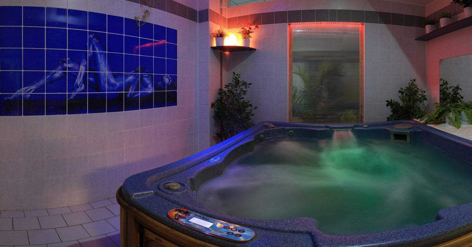 Whirlpool v hotelu Mesit